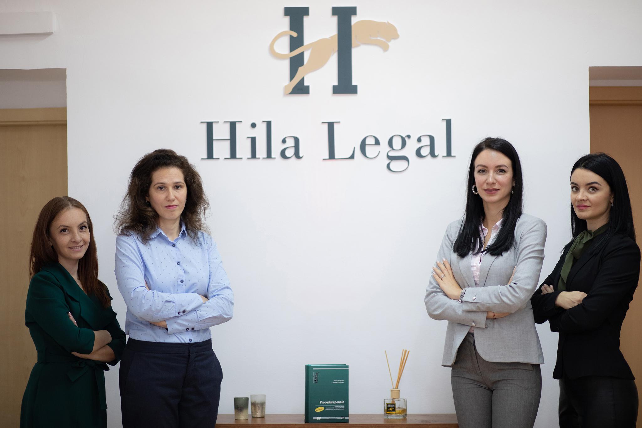 Echipa Hila Legal - Alexandra Hila, Ema Patrascu, Romana Bantas, Mihaela Ignia